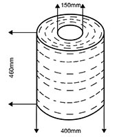 Bobina corde di carta rivestite in cotone - SEMAC