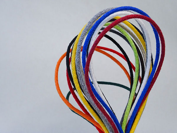 SEMAC - corde rivestite in cotone per maniglie di borse in carta